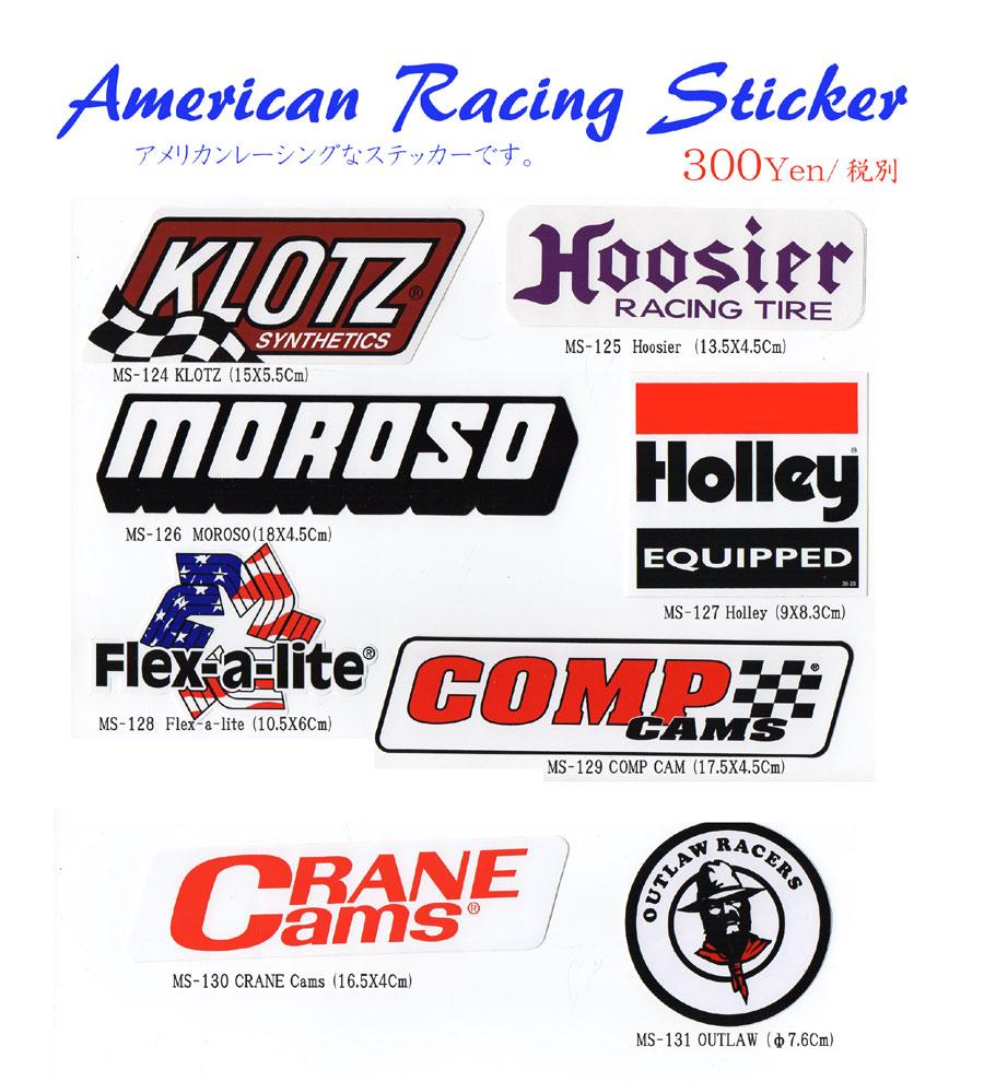 アメリカンレーシングステッカー 新柄入荷のご案内