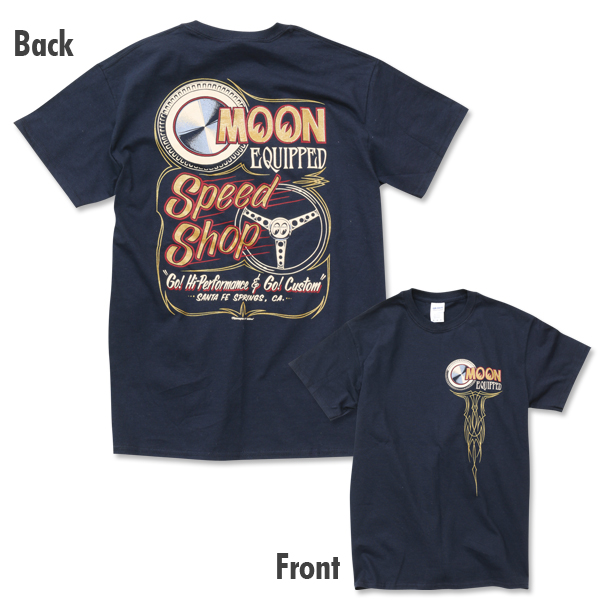 MOON Equipped Speed Shop Tシャツ入荷のご案内