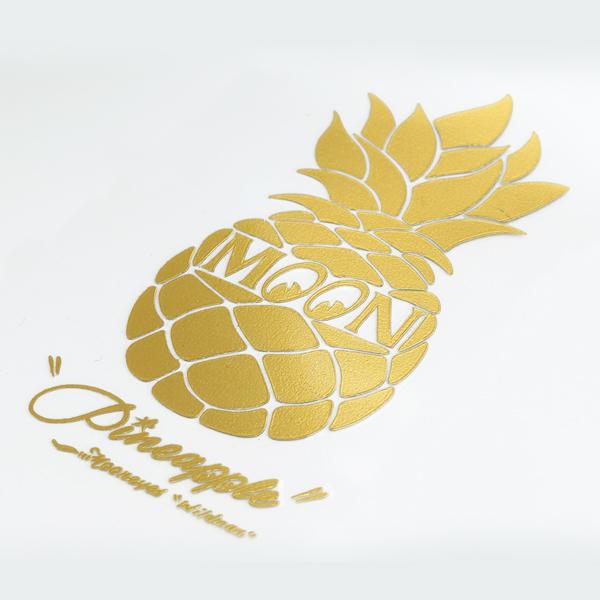 MOON Pineappleステッカー 新商品のご案内