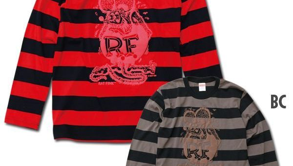 RatFink ボーダーロングスリーブTシャツ 新商品のご案内
