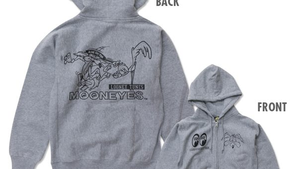 RoadRunner & Wile E. Coyote ジップアップパーカ 新商品のご案内