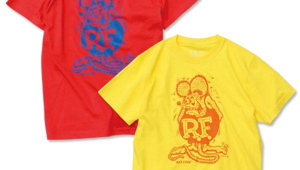 RatFink カラー Tシャツ 新商品のご案内 ラットフィンク