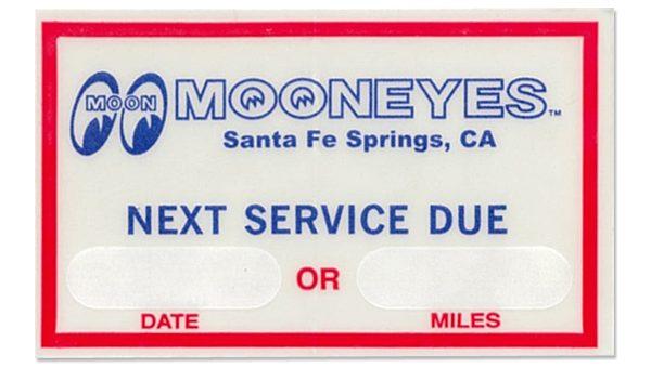 MOONEYES ネクストサービスデュー ステッカー 新商品のご案内