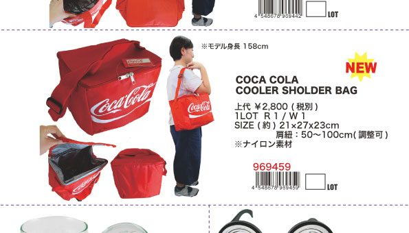 コカ・コーラ オフィシャルアイテム各種 入荷のご案内