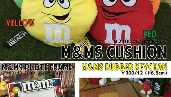 M&M's、Mr.PEANUTS アイテム入荷のご案内