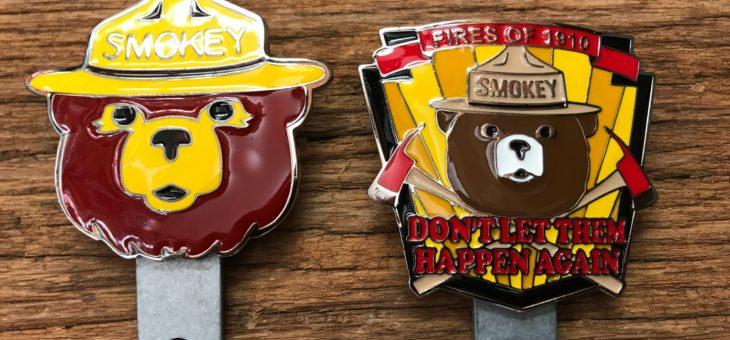 カーバッチ スモーキーベア 2種 新商品のご案内 SMOKEY BEAR