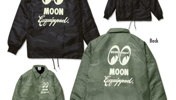 MOON Equipped ロゴ ボア コーチ ジャケット 新商品のご案内 ムーンアイズ MOONEYES