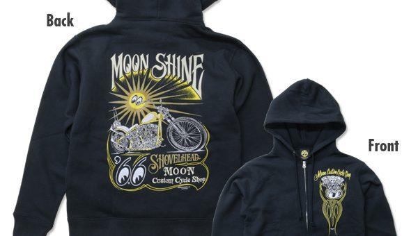 ムーンアイズ Shine ジップ パーカー 新商品のご案内 MOONEYES