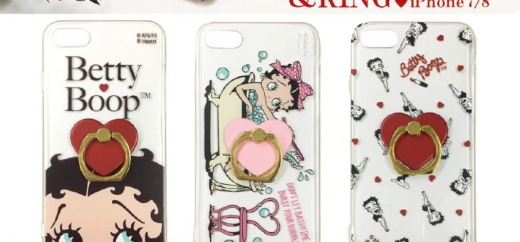 Betty Boop クリアジャケット&リング 新商品のご案内