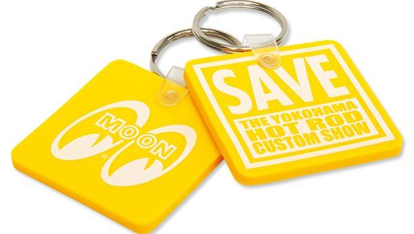 ムーンアイズ SAVE THE YOKOHAMA HOT ROD CUSTOM SHOW キー リング 新商品のご案内 MOONEYES