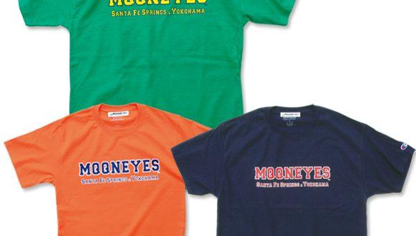 ムーンアイズ カレッジロゴ Tシャツ 新商品のご案内 MOONEYES