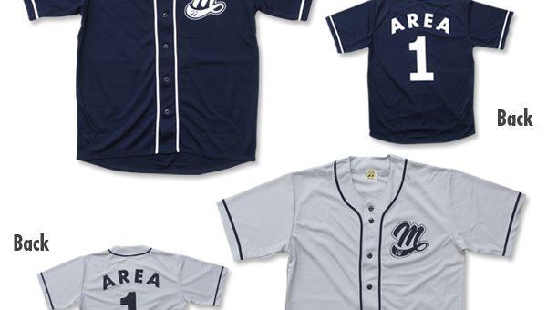 ムーンアイズ エリア1 ベースボール シャツ 新商品のご案内 MOONEYES AREA-1