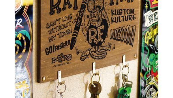 ラットフィンク ウッドフックボード 新商品のご案内 RATFINK