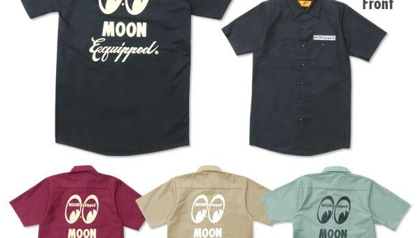 ムーンイクイップド RedKap ワークシャツ 新商品のご案内 MOON Equipped ムーンアイズ MOOEYES