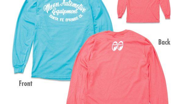 ムーンアイズ Automotive ロングスリーブ Tシャツ 新商品のご案内 MOONEYES