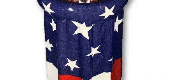 USA 星条旗 インフレータブル パーティークーラー 新商品のご案内
