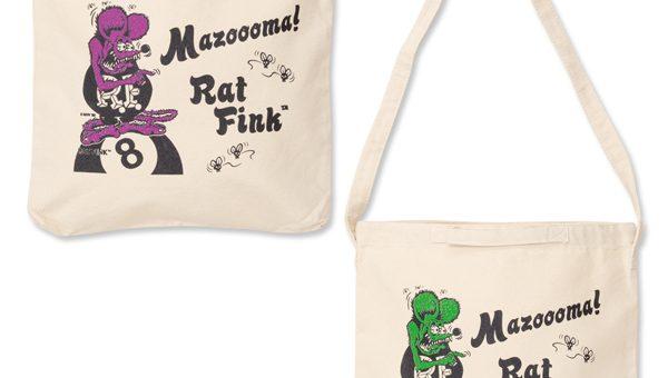 ラットフィンク Mazooma! トートバッグ 新商品のご案内 RATFINK