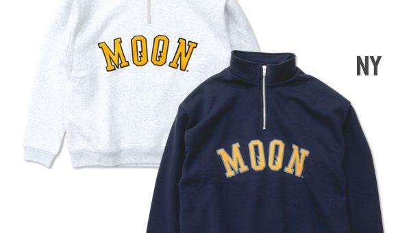 ムーンアイズ ハーフジップ スウェットシャツ 新商品のご案内 MOONEYES