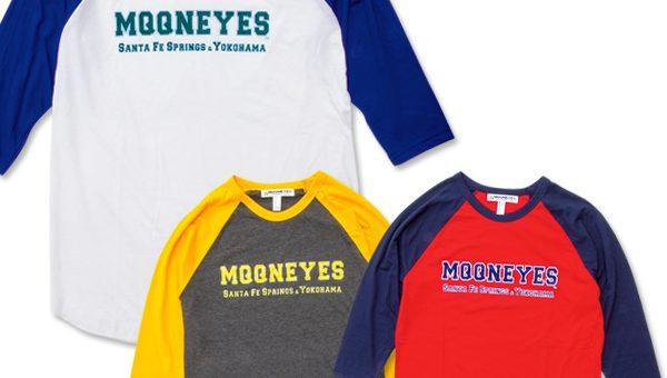 ムーンアイズ ロゴ ラグラン 3/4スリーブ Tシャツ 新商品のご案内 MOONEYES