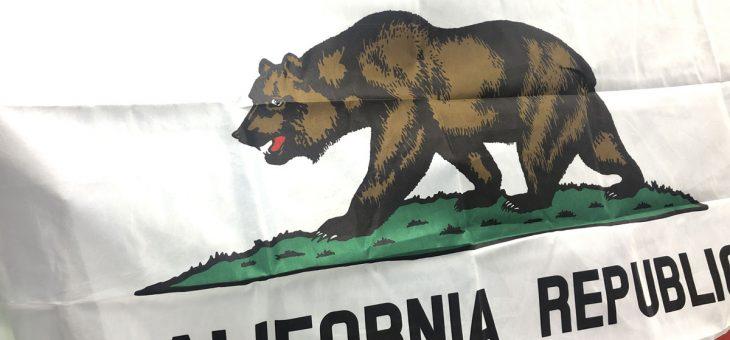 カリフォルニア 州旗 フラッグ 新柄 入荷のご案内 California
