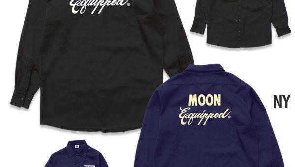 ムーンイクイップド ロングスリーブ ワークシャツ 新商品のご案内 MOON Equipped