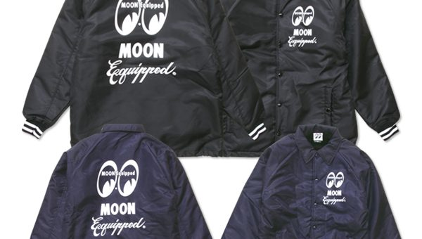 ムーンイクイップド ロゴボア コーチジャケット 新商品のご案内 MOON Equipped MOONEYES