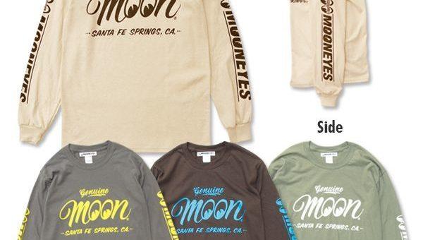 ムーンアイズ Genuine MOON ロングスリーブ Tシャツ 新商品のご案内 MOONEYES