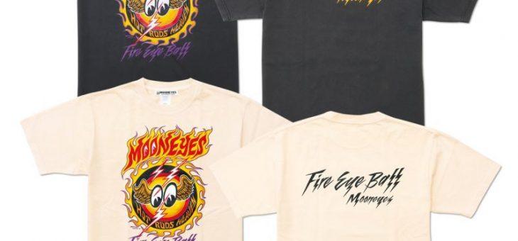 ムーンアイズ ファイアーアイボール Tシャツ 新商品のご案内 MOONEYES