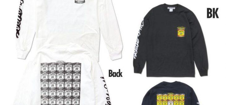 ムーンアイズ ペイントカン ロングスリーブ Tシャツ 新商品のご案内 MOONEYES