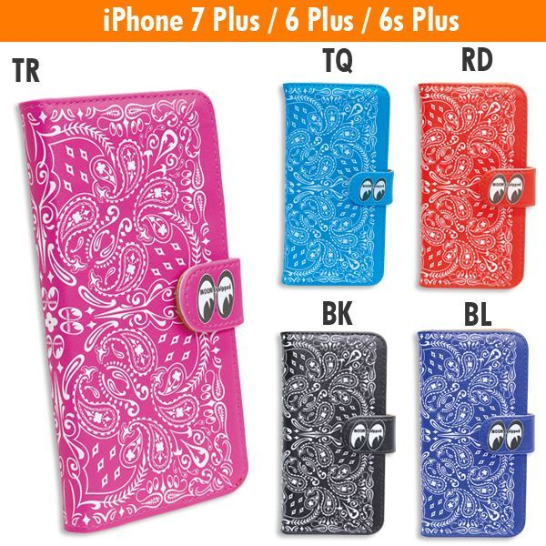 MOON Equipped Paisley iPhone7 & iPhone6/6s フリップ ケース 入荷のご案内