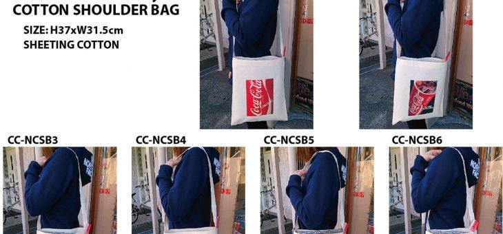 コカ・コーラ コットンショルダーバッグ 新商品のご案内