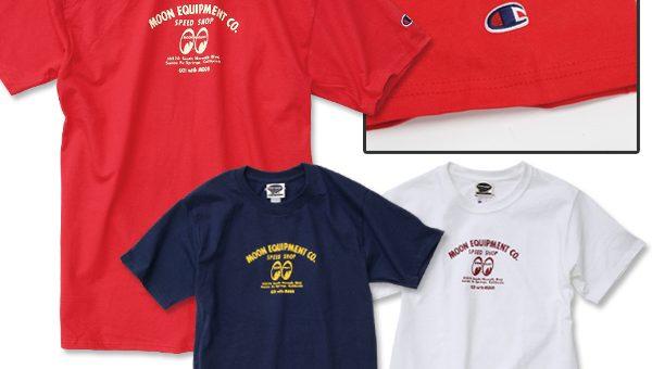 MOON スピードショップTシャツ 新商品のご案内 ムーンアイズ