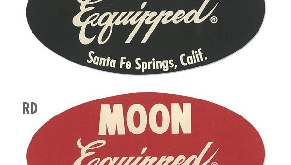 MOON Equipped ステッカー 新商品のご案内 ムーンアイズ