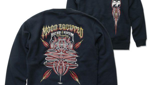 MOON Equipped Hot Rod & Kustom Supply スウェット 新商品のご案内 ムーンイクイップド ムーンアイズ MOONEYES