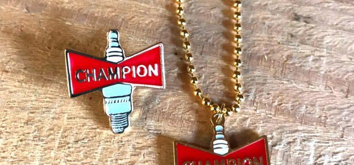 ヴィンテージコレクションシリーズ CHAMPION ピンズ・キーチェーン 再入荷のご案内