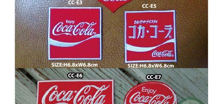 コカコーラ ワッペン 新商品のご案内