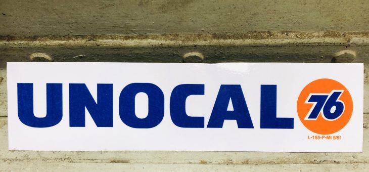 レーシング ステッカー 新柄入荷のご案内 UNOCAL76
