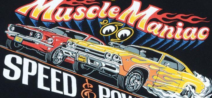 ムーンアイズ Muscle Maniac Tシャツ 新商品のご案内 MOONEYES