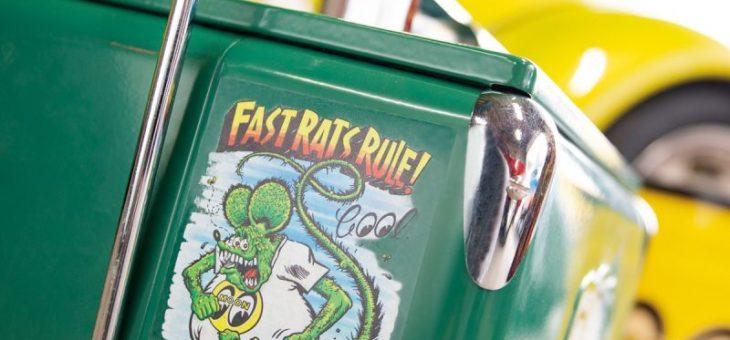 ラットフィンク × ムーンアイズ コラボ ステッカー 各種 新商品のご案内 RATFINK MOONEYES