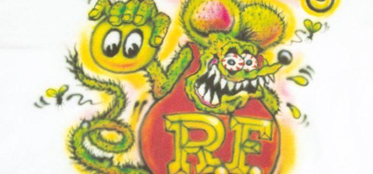 ラットフィンク × ムーンアイズ コラボ エアブラシ Tシャツ 新商品のご案内 RATFINK MOONEYES