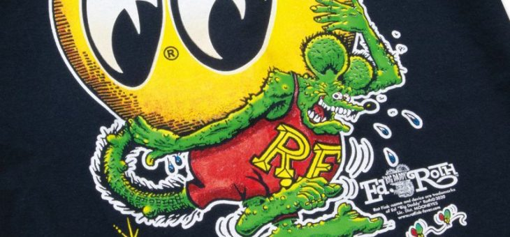 ラットフィンク × ムーンアイズ コラボ Tシャツ 新商品のご案内