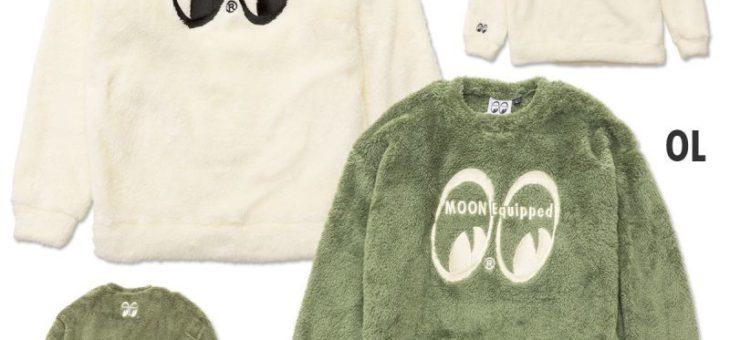 ムーンイクイップド ファーフリース スウェットシャツ 新商品のご案内 MOON Equipped