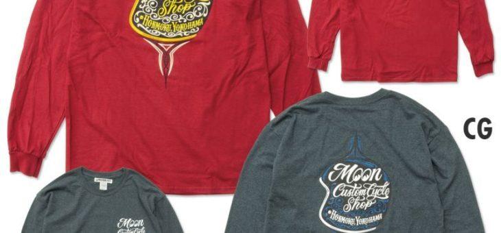 ムーンアイズ MotorCycle ヘルメット ロングスリーブ Tシャツ 新商品のご案内 MOONEYES