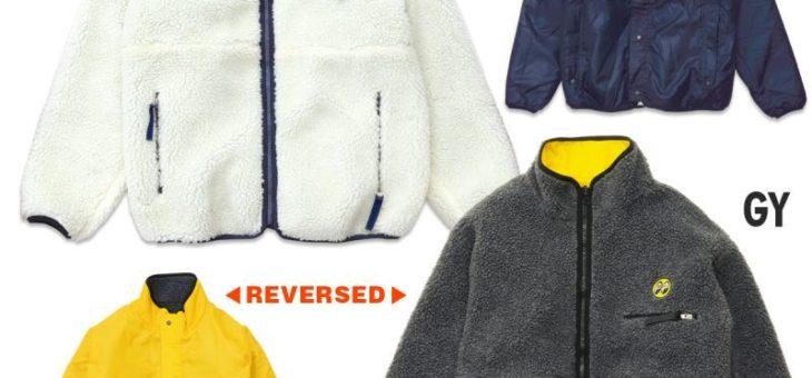 ムーンアイズ フリース リバーシブル ジャケット 新商品のご案内 MOONEYES