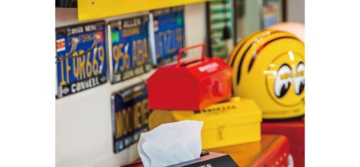 ムーンアイズ ツールボックス ティッシュケース 新商品のご案内 MOONEYES