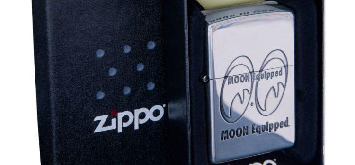 ムーンイクイップド Zippoライター 新商品のご案内 MOON EQUIPPED
