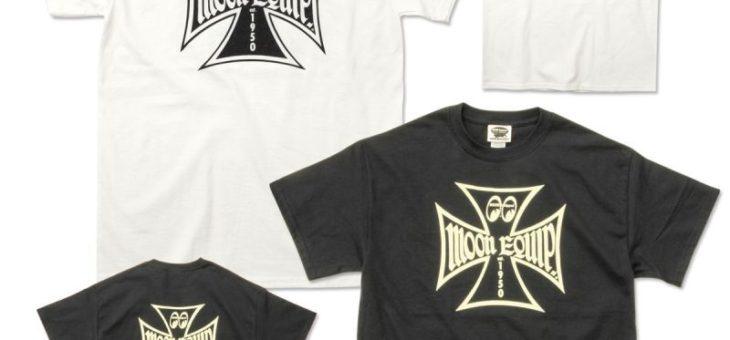 ムーンイクイップド IronCross Tシャツ 新商品のご案内 MOON Equipped