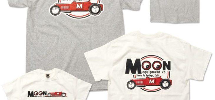 ムーンアイズ Equipment Red Roadster Tシャツ 新商品ご案内 MOONEYES