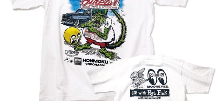 ラットフィンク×Area-1 Tシャツ 新商品のご案内 RATFINK MOONEYES