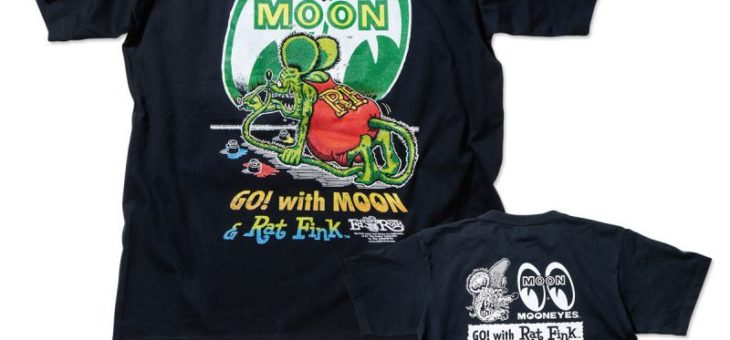 ラットフィンク×ムーンアイズ ペイント Tシャツ 新商品のご案内 Rat Fink x MOONEYES